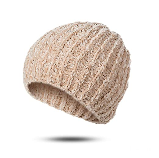 f62081cea1c Winter Hat Woman Man Fashion Knitted Casual Solid Color Classic Wool ...