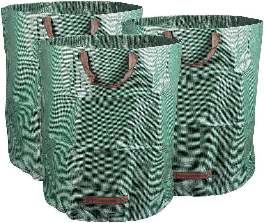 Pop up Jardin Déchets Sacs 2 X Large 80 L Heavy Duty Sac poubelle de poignées de transport pliable