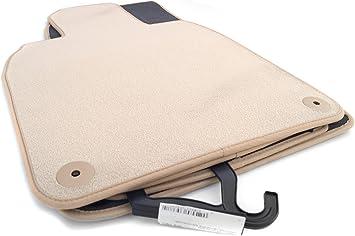Fußmatten 970 Autoteppich Velour Automatten Beige Original Qualität 4 Teilig Auto
