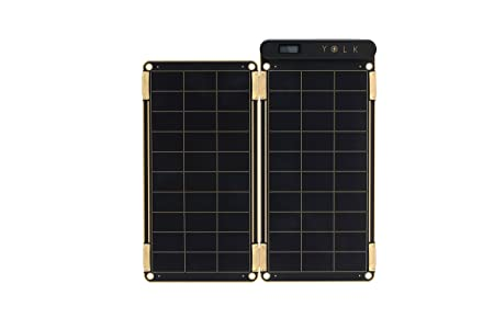 front facing yolk station solar paper charger