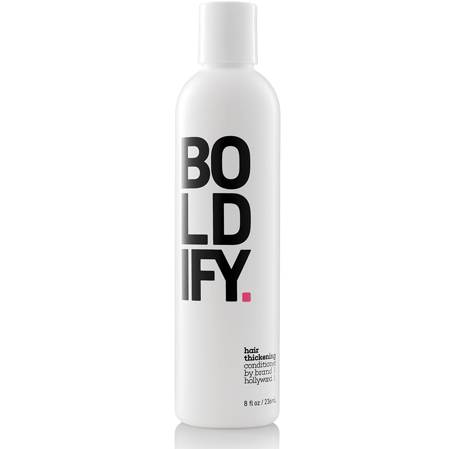 BOLDIFY Thickening Conditioner with BIOTIN - For Thicker, Stronger and Fuller Hair with Every Use - Color Safe and Vitamin Infused for Volumizing (8 oz)