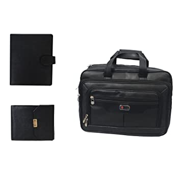 ea25232533f9 The Runner 3 In 1 Combo Offer Of Big Laptop Bag With Bussiness Organizer  And A Gents Wallet
