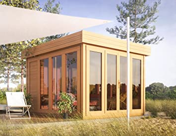 Tejado plano para caseta de jardín isla solar – 3,50 x 3,70