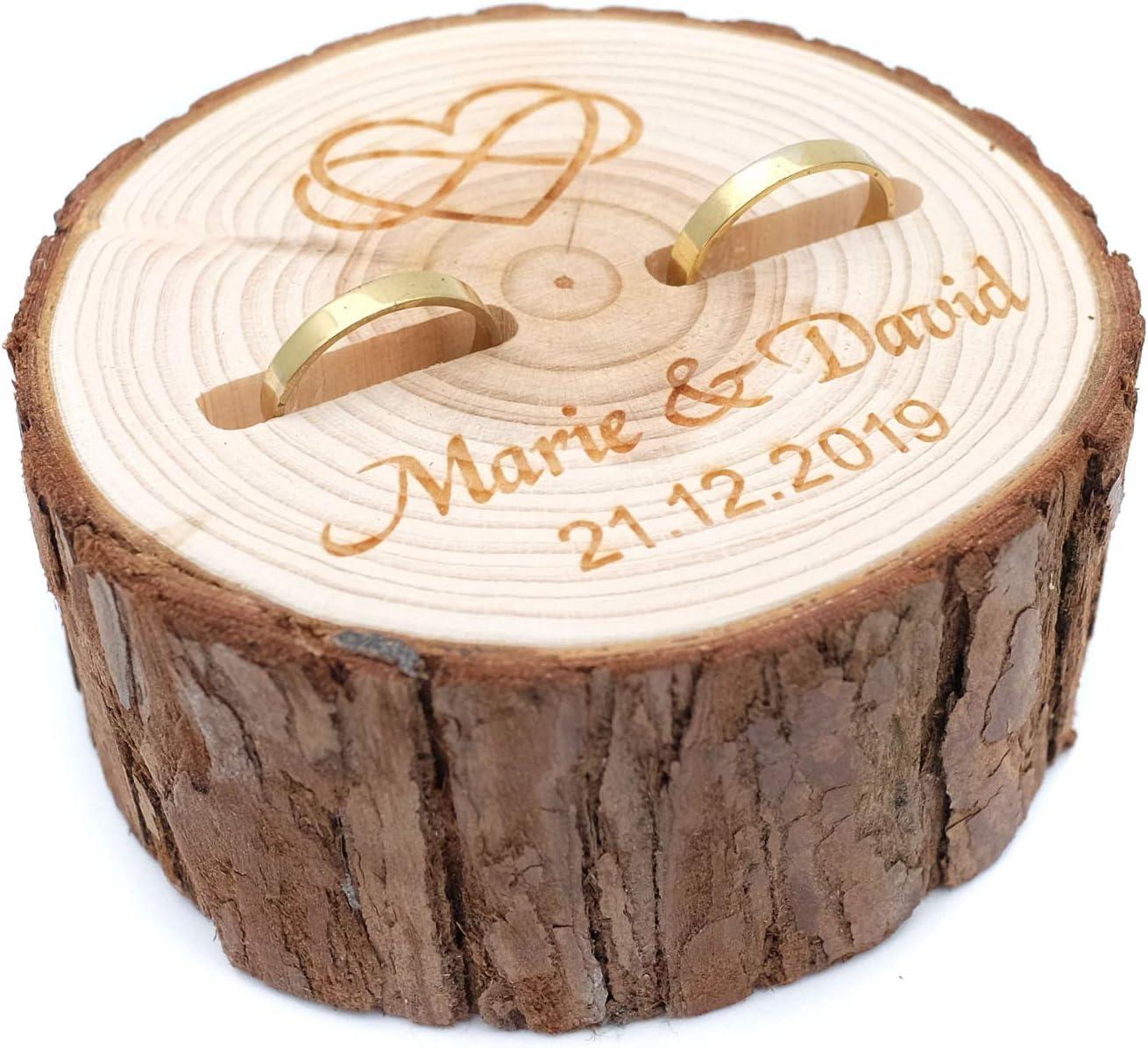 rustic wooden ring box Wedding ring box box for wedding rings wedding ring dish custom ring bearer box ring bearer wooden ring box
