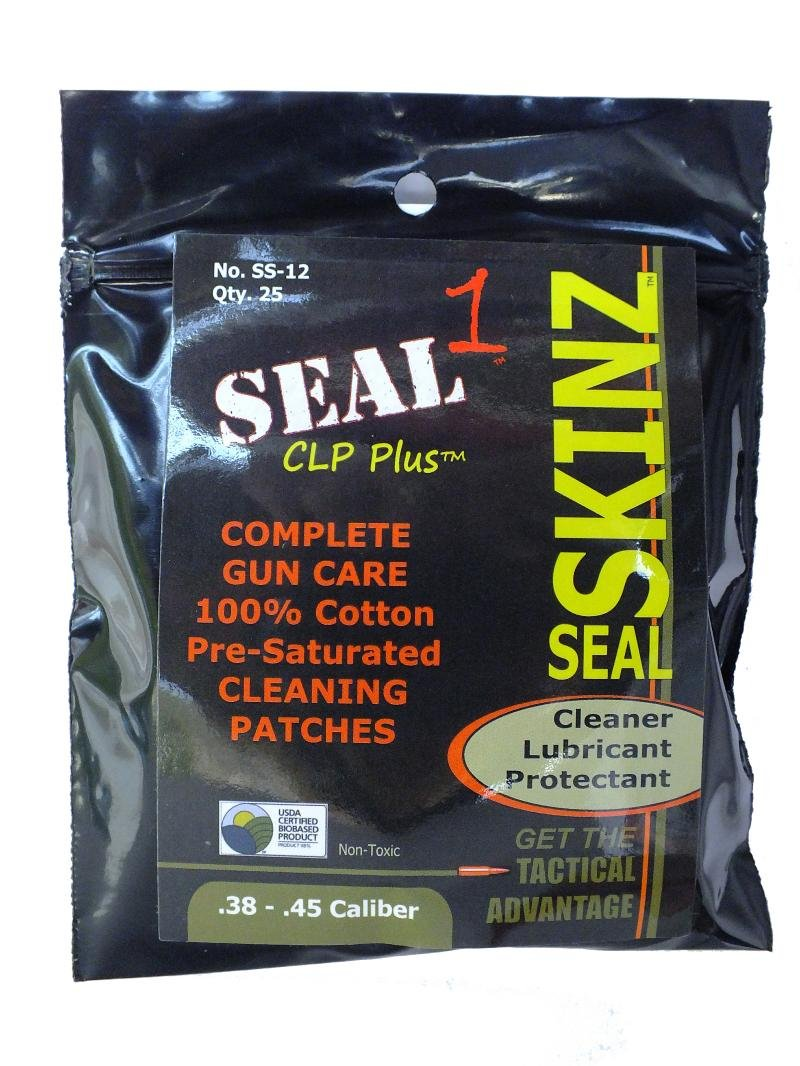 SEAL 1 SS-12 Skinz Pre-Saturated Cleaning Patches
