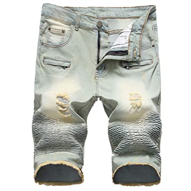 GIRLXV Pantalones Cortos Pantalones Cortos De Vaquero De ...