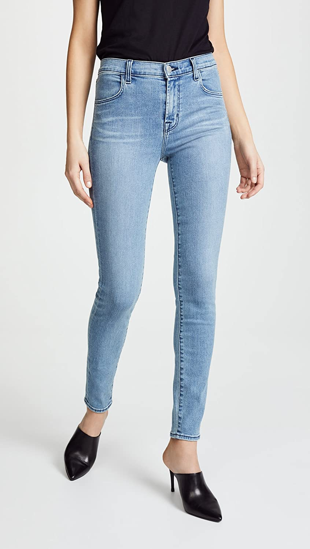 f59b233bfc26 Amazon.com: J Brand Women's Maria High Rise Skinny Jeans, Patriot, 32:  Clothing