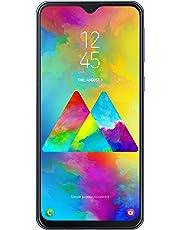 "Samsung Galaxy M20 Smartphone, Grigio (Charcoal Black), Display 6.3"", 64 GB Espandibili, Dual SIM [Versione Italiana]"