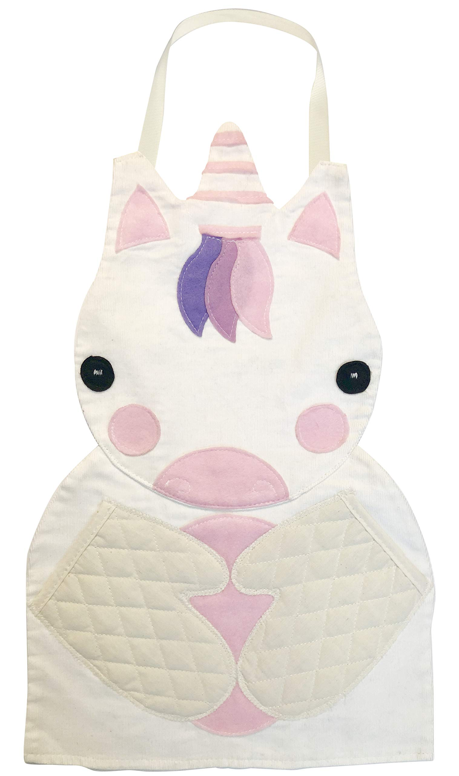 Hapinest Pretend Play Make and Bake Kids Apron for Girls, Unicorn by Hapinest