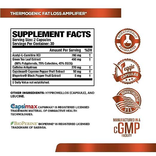 Amazon Com Burn Xt Thermogenic Fat Burner Weight Loss Supplement