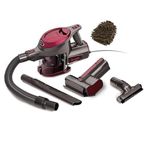 HV292 Shark Rocket Corded Hand Vac Complete Set w Bonus Premium Microfiber Cleaner Bundle