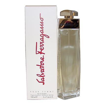 Salvatore Ferragamo Pour Femme Eau de Parfum - 100 ml  Amazon.es ... 002c9685ed