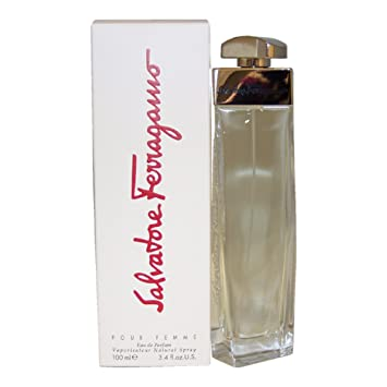 f24b652fe79cf Amazon.com   Salvatore Ferragamo By Salvatore Ferragamo For Women. Eau De  Parfum Spray 3.4 Ounces   Salvatore Ferragamo Pour Femme   Beauty