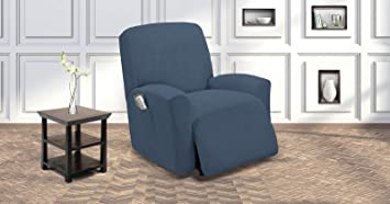 Astounding Sapphire Home Recliner Chair Slipcover Shield Form Fit Stretch Wrinkle Free Protector Cover For Recliner Remote Pocket Polyester Spandex Fabric Onthecornerstone Fun Painted Chair Ideas Images Onthecornerstoneorg