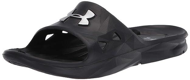 7. UNDER ARMOR Men's Locker III Slide Sandal