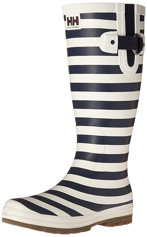 Helly Hansen Women's Veierland 2 Graphic Rain Boot B01GNSI5RC 6 B(M) US|Evening Blue/Off White/Light Grey
