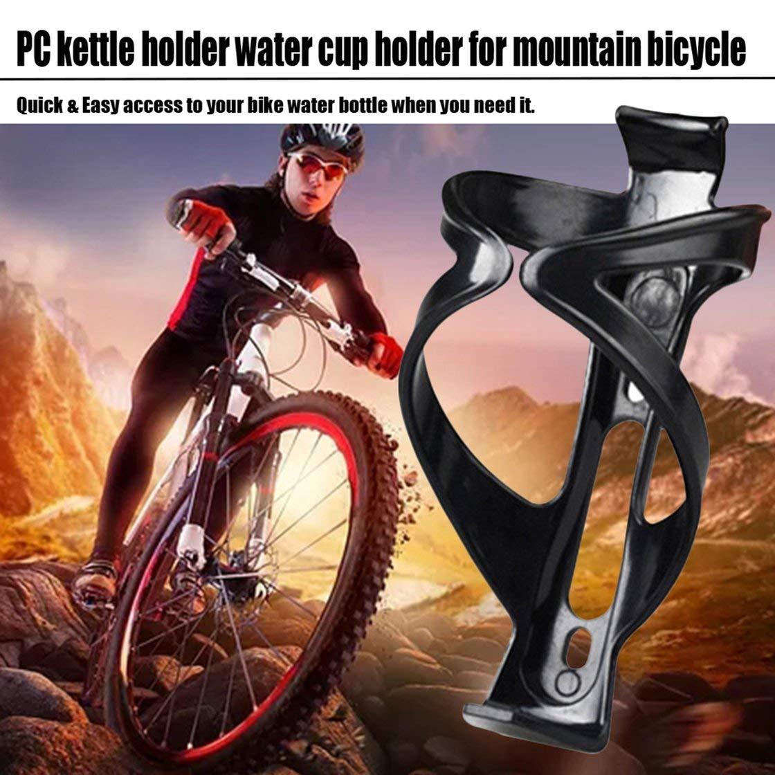Gwendoll Soporte de Botella de Agua de Bicicleta de monta/ña de pl/ástico Estante de Botella de Bicicleta Taza de Ciclismo Barra de Botella montada Botellas Estante de sujeci/ón