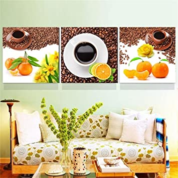 Moderne Restaurant Malerei Küche Wandbilder Triple Combo Malerei ( Größe :  50*50*2.5