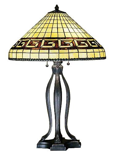 Amazon.com: 30 inch de alto griego lámpara de mesa lámparas ...