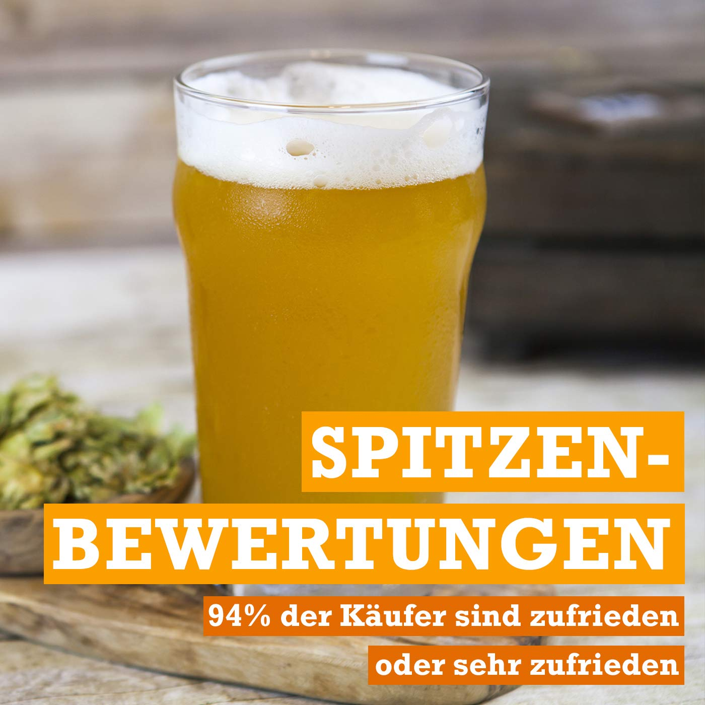 Feinschmecker Bierbrauset Weizenbier Selber Brauen Neu Hefe Weizen Bier Set Geschenk Brew Beer Grade Produkte Nach QualitäT