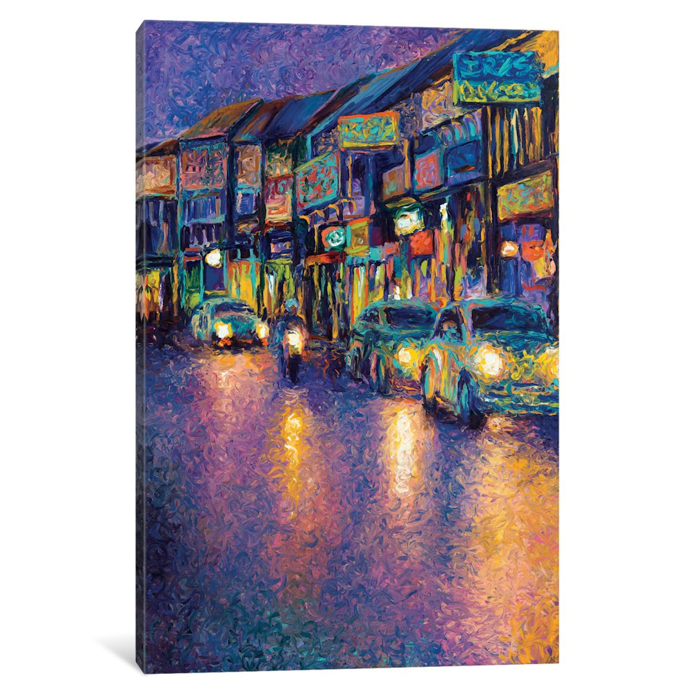 Icanvas My Thai Headlights Gallery Wrapped canvas Art Print by Iris Scott