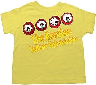 The Beatles Yellow Submarine Love Niño Camiseta : Amazon.es: Ropa