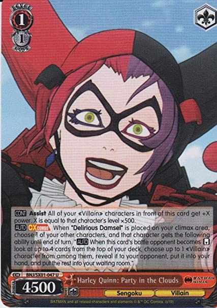 Amazon.com: Weiss Schwarz - Harley Quinn: Party in The ...