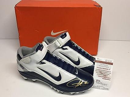 682f213778454 LaDainian Tomlinson Signed Nike LT Super Bad Football Cleats Shoe ...