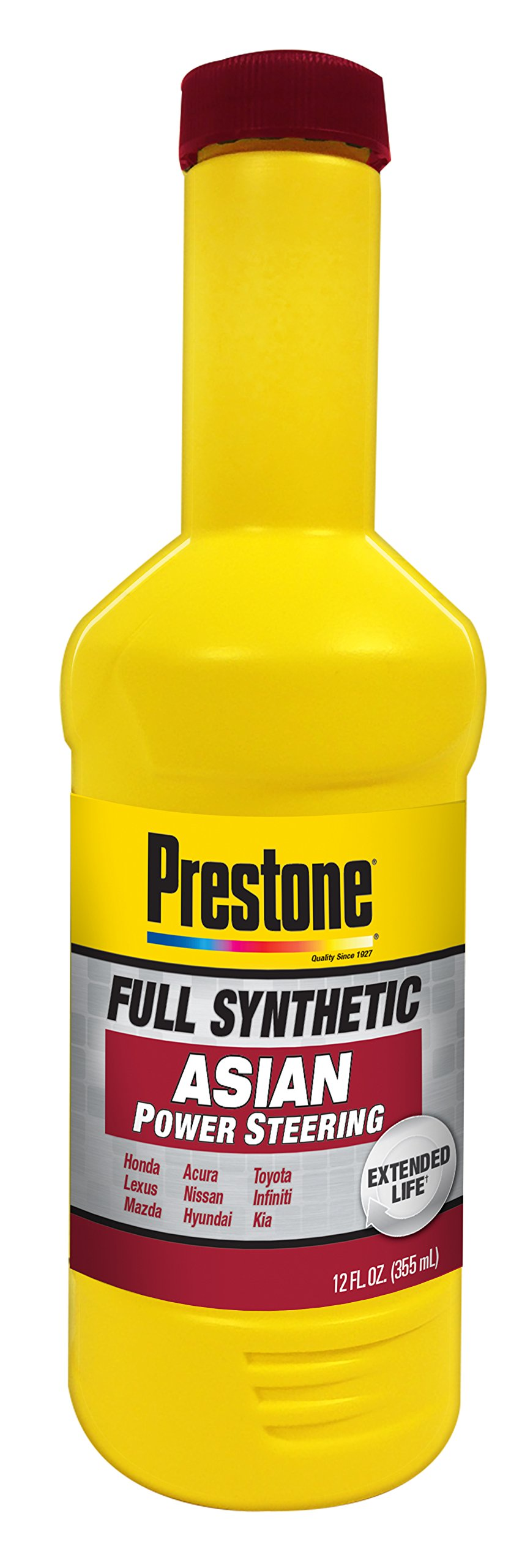 Prestone AS269 Power Steering Fluid for Asian Vehicles - 12 oz. by Prestone