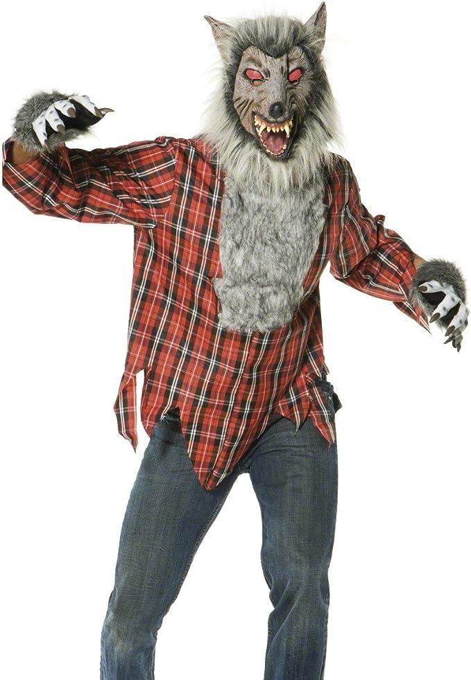 Smiffys - Disfraz de hombre lobo para hombre, talla 52-54 ...