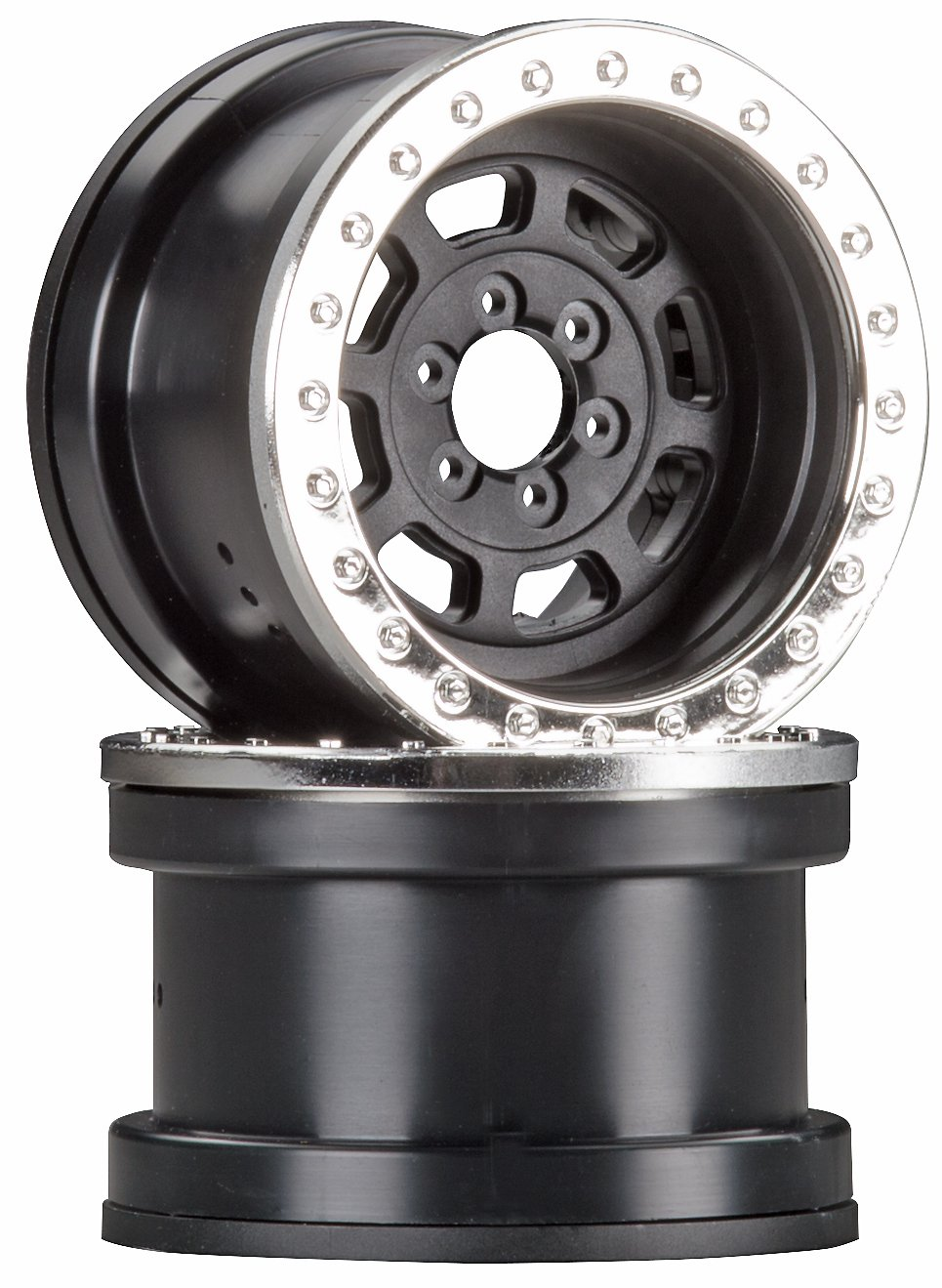 Axial ax08142 2.2 Trail listo HD serie ruedas (Juego de 2), cromado