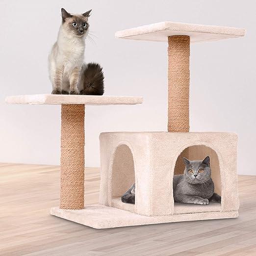 Leopet – Rascador para Gatos Árboles Gato Rascador Árbol para ...
