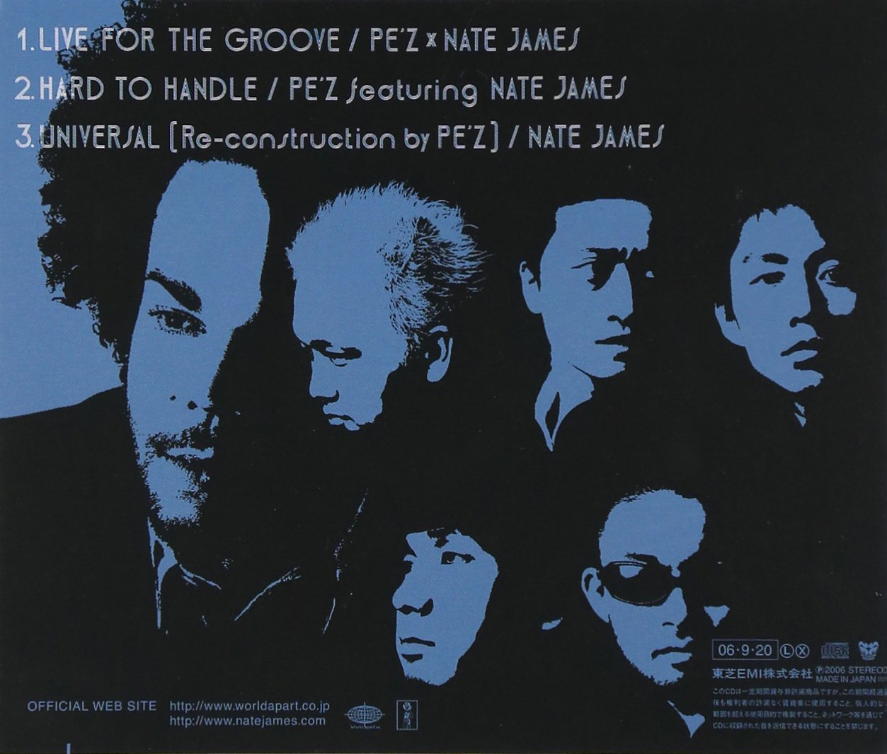 Live for the Groove by EMI Japan