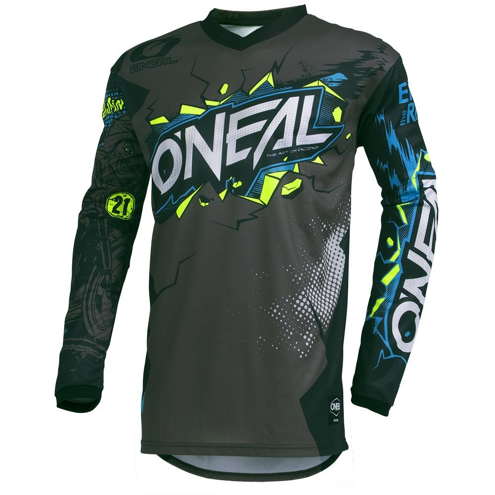 Neon Yellow, X-large ONeal Mens Element Villain Jersey