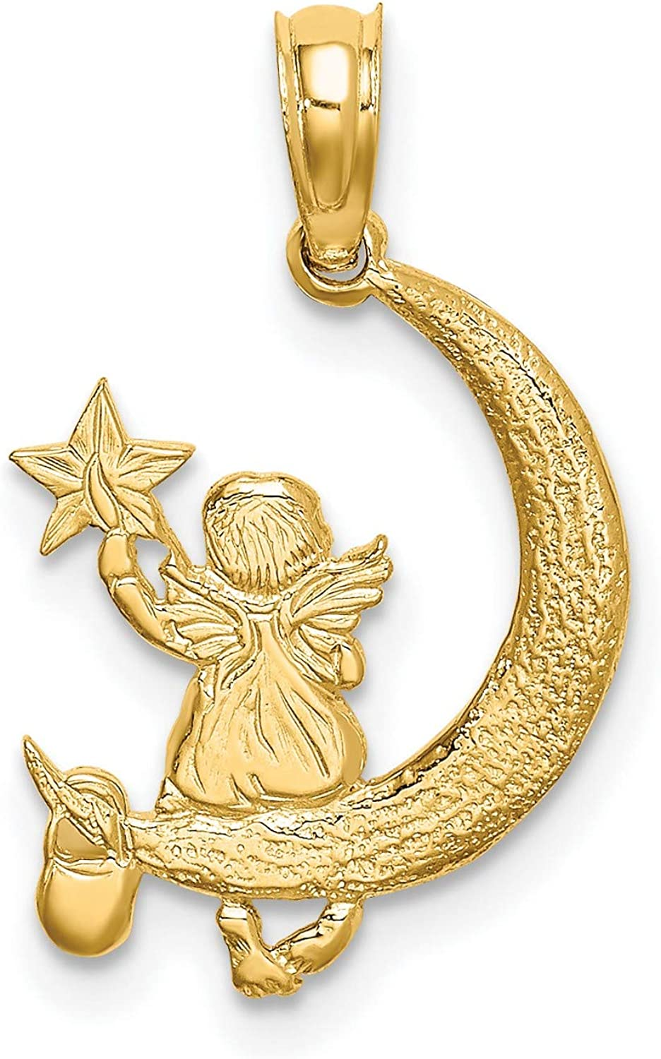 Details about  /New Real Solid 14K Gold 16MM Dolphin Charm Pendant