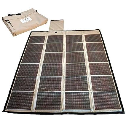 Amazon.com: Nueva powerfilm Cargador Solar Plegable 90 Watt ...