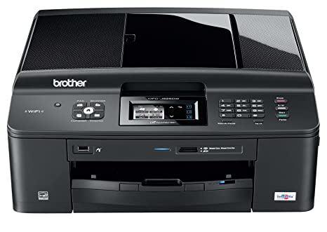 Brother MFCJ625DW - Impresora multifunción de Tinta Color (A4, 12 ppm, WiFi)