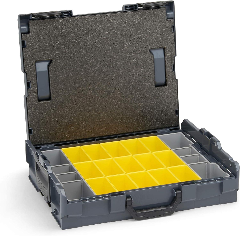 B3 aussi Adapt/é pour le Nouveau L-BOXX G4 Bo/îte de Cloisonnement Inserts Syst/ème de Classement avec Tampons de Couverture pour Bosch Sortimo L-BOXX 102 Nouveau Mod/èle G4