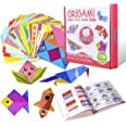 Gamenote Colorful Kids Origami Kit 118 Double Sided Vivid Origami Papers 54 Origami Projects 55 Pages Instructional Origami B