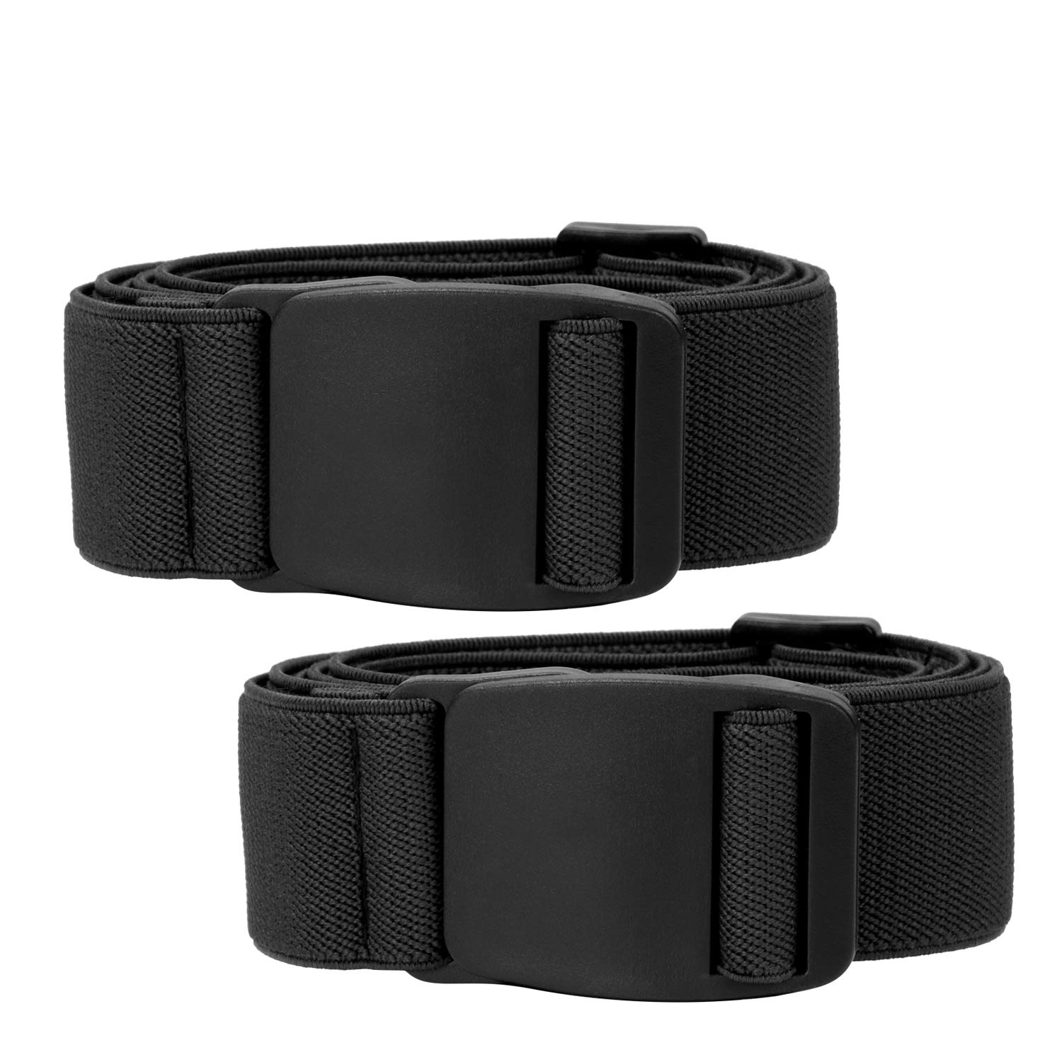 643ec483a1f Men s No Show Elastic Stretch Belt Invisible Casual Web Belt Quick Release  Flat Plastic Buckle at Amazon Men s Clothing store