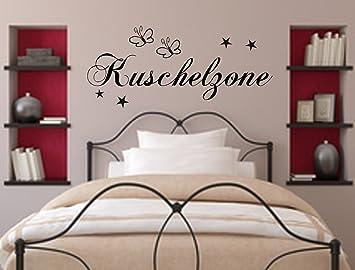 Wandschnörkel® WANDTATTOO Kuschelzone Dekoration Schlafzimmer Wohnzimmer  Kinderzimmer 21 Farben im Angebot Bitte senden Sie uns direkt nach dem Kauf  ...