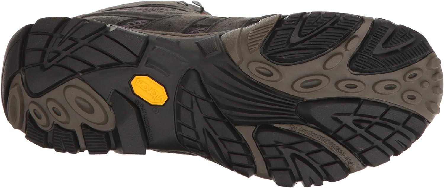 Merrell Mens Moab 2 Mid Waterproof Hiking Boots
