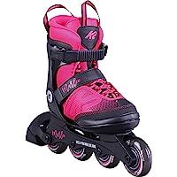 K2 Skate Youth Marlee Inline Skates, Magenta