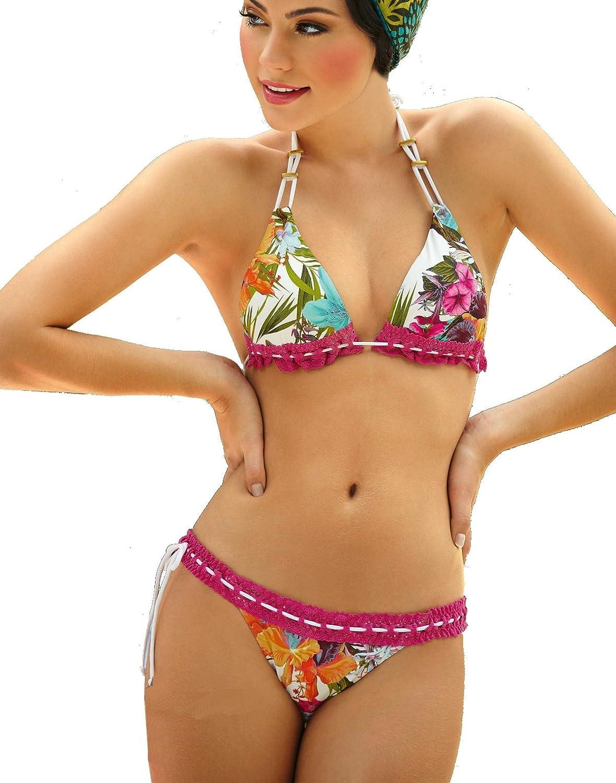 ELLIPSE - Botanical - Triangel Bikini 2-teilig (M, mehrfarbig)