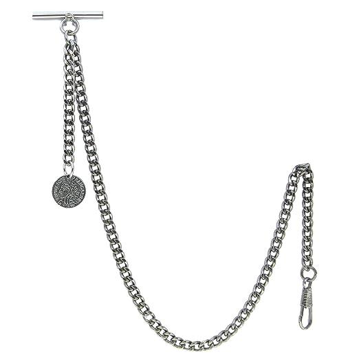 Amazon.com: Albert cadena reloj de bolsillo cadena de ...