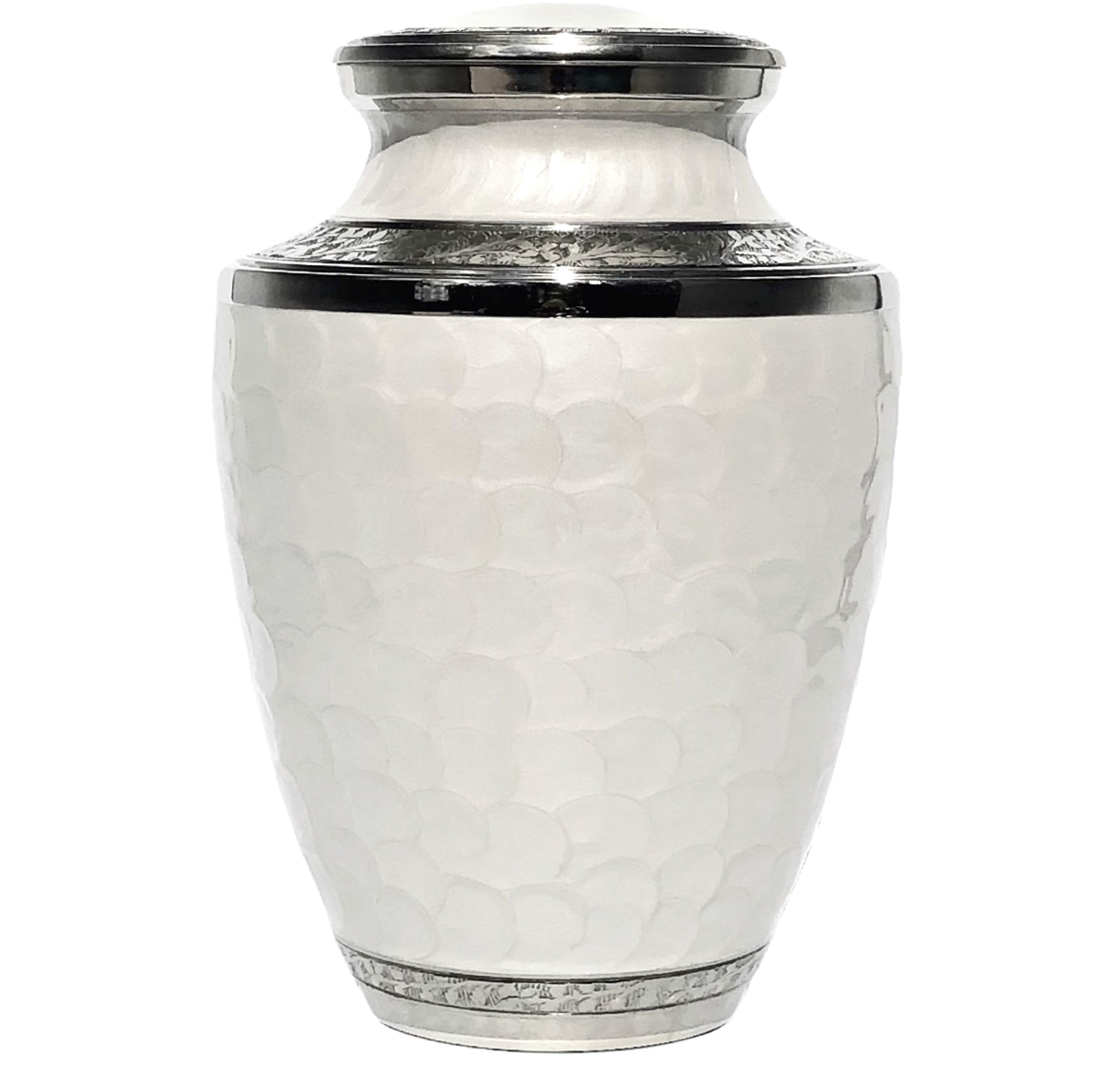 Eternal Harmony Cremation Urn for Human Ashes | Funeral Urn Carefully Handcrafted with Elegant Finishes to Honor and Remember Your Loved One | Adult Urn Large Size with Beautiful Velvet Bag by Eternal Harmony (Image #2)