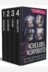 Bachelors Incorporated: Mason, Damon, Liam, Wilder: A Steamy Romantic Suspense Collection Kindle Edition