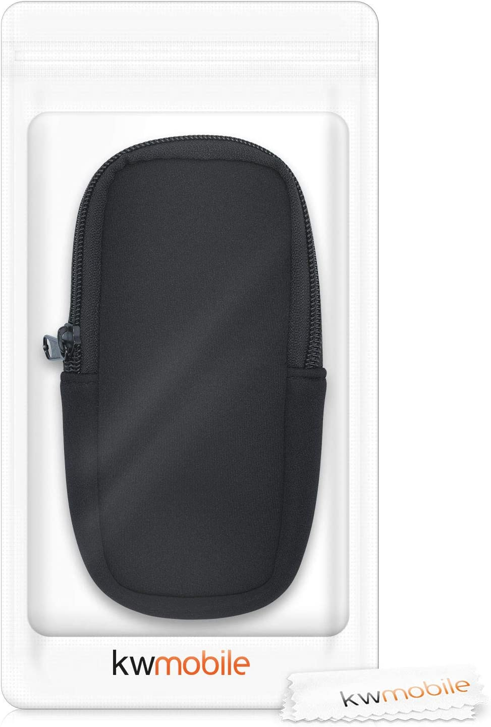 64x Protective Pouch for Handheld GPS Black kwmobile Soft Case Compatible with Garmin GPSMAP 64sx