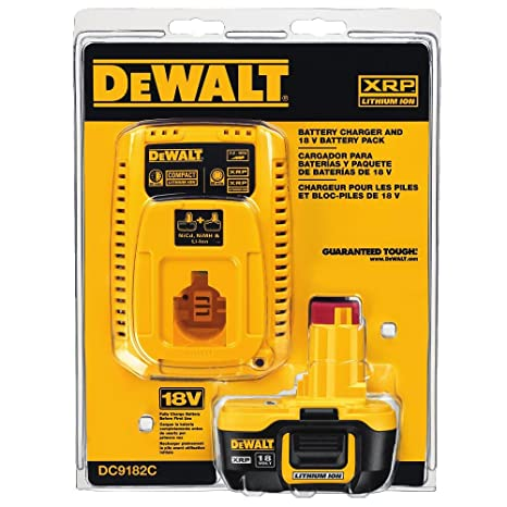 Amazon.com: Dewalt - DC9182C batería de ion de litio ...