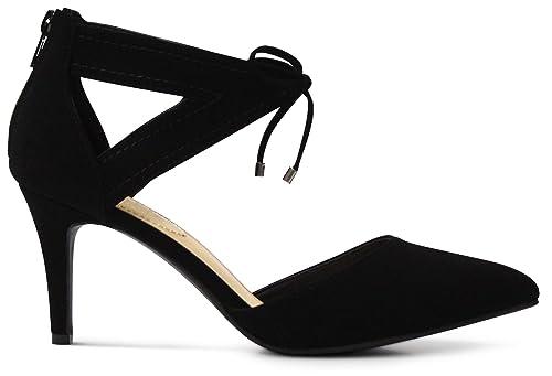 Footwear Women's Foam Low Toe Memory Heels High Platform Shoes Affordable Cushion Dress Pointed XuPOZik
